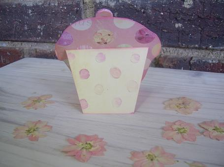 Cup Cake Card Back