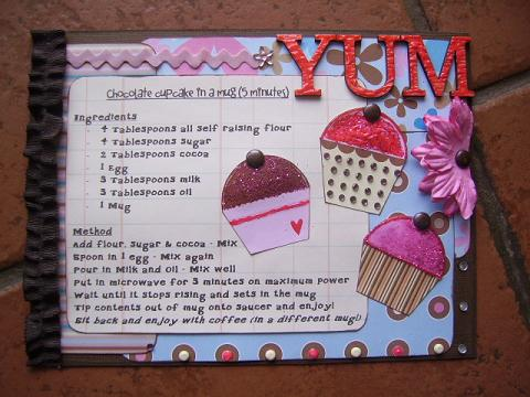 Cupcake Fridge Magnet